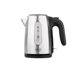 Adler Kettle AD 1273 Standard, 1630 W, 1 L, Stainless steel, Stainless steel, 360° rotational base