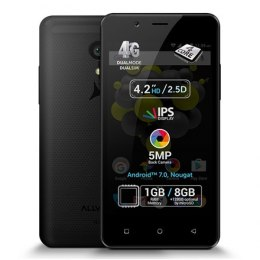 "Allview P4 Pro Black, 4.2 "", HD IPS, 768 x 1280 pixels, Internal RAM 1 GB, 8 GB, microSD, Dual SIM, 3G, 4G, Main camera 5 MP, Se"