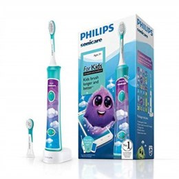 Philips Sonic Electric toothbrush HX6322/04 For kids, Rechargeable, Sonic technology, Teeth brushing modes 2, Number of brush he