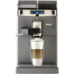 Saeco Lirika One touch Coffee maker RI9851/01 Built-in milk frother, Fully automatic, 1850 W, Silver