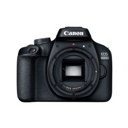 "Canon EOS 4000D SLR Camera Body, Megapixel 18 MP, ISO 12800, Display diagonal 2.7 "", Wi-Fi, Video recording, APS-C, Black"