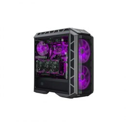Cooler Master MasterCase H500P Side window, USB 3.0 x2, USB 2.0 x2, Mic x1, Spk x1, Gun Metal/Black, E-ATX, Power supply include