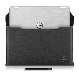 "Dell Premier 460-BCQN Fits up to size 14 "", Black/Grey, Sleeve"