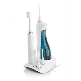 ETA Oral care centre (sonic toothbrush+oral irrigator) ETA 2707 90000 Sonic toothbrush, White, Sonic technology, 3 cleaning mod