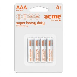 ACME R03 Super Heavy Duty Batteries AAA/4pcs Acme