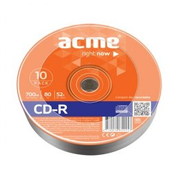 Acme CD-R 0.7 GB, 52 x, 10 Pack Shrink