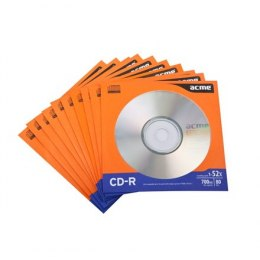 Acme CD-R 0.7 GB, 52 x, 10 Pcs. in Paper Sleeves