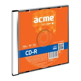 Acme CD-R 0.7 GB, 52 x, Plastic Slim Box