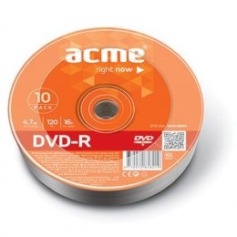 Acme DVD-R 4.7 GB, 16 x, 10 Pcs. Shrink