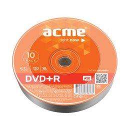 Acme DVD+R 4.7 GB, 16 x, 10 Pcs. Shrink