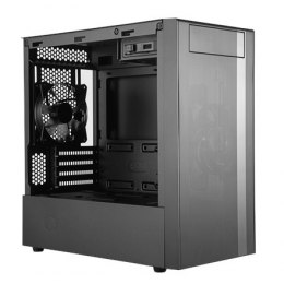 Cooler Master MasterBox NR400 without ODD MCB-NR400-KG5N-S00 Black, Micro ATX, Mini ITX, Power supply included No