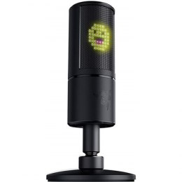 Razer Seiren Emote Microphone with Emoticons, Wireless, Black
