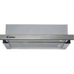 Candy Hood CBT625/2X Telescopic, Width 60 cm, 332 m³/h, Stainless steel, Energy efficiency class B