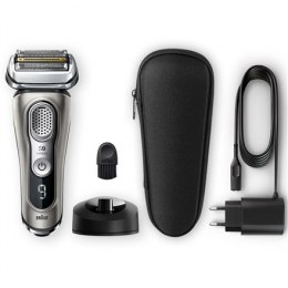 Braun Shaver 9325s Cordless, Charging time 1 h, Wet use, Li-Ion+, Number of shaver heads/blades 5 shaving elements, Graphite