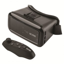 Acme VRB01RC Black, Virtual Reality Glasses, Compatible with smartphones from 4 to 6 display