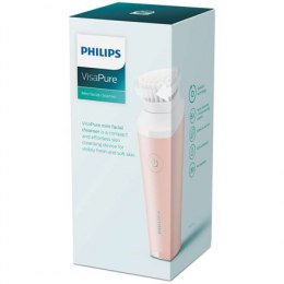 Philips VisaPure Facial mini cleanser BSC111/06 Power source type Battery, Number of brush heads included 1 cleansing brush head
