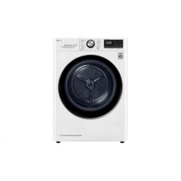LG Dryer Machine RC90V9AV2Q Energy efficiency class A+++, Front loading, 9 kg, Heat pump, LED touch screen, Depth 69 cm, Wi-Fi,