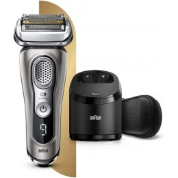 Braun Shaver 9385cc Cordless, Wet use, Li-Ion+, Number of shaver heads/blades 5 shaving elements, Graphite