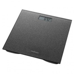 Medisana Glass personal scale PS 500 Dark Grey, Auto power off, Maximum weight (capacity) 180 kg