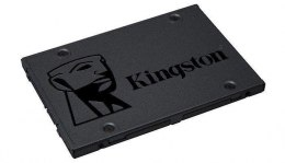 "Kingston A400 240 GB, SSD form factor 2.5"", SSD interface SATA, Write speed 350 MB/s, Read speed 500 MB/s"