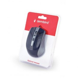 Gembird MUS-4B-01-GB Optical Mouse, Spacegrey/Black, USB