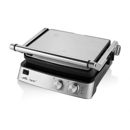 ETA Grill ETA515590000 Party Chef Table top, Contact grill, 2000 W, Stainless steel