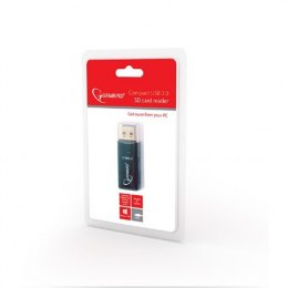 Gembird Compact USB 3.0 SD card reader, Blister