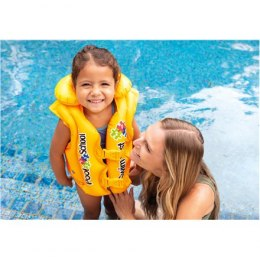 Intex Deluxe Swim Vest Pool School 58660EU Yellow