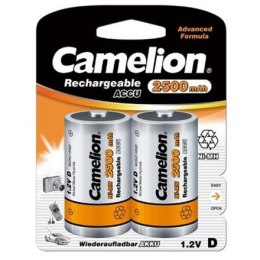 Camelion D/HR20, 2500 mAh, Rechargeable Batteries Ni-MH, 2 pc(s)