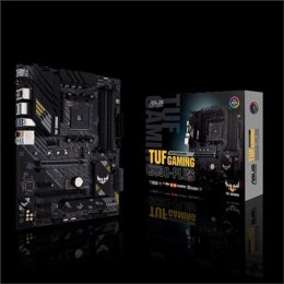 Asus TUF GAMING B550-PLUS Memory slots 4, Processor family AMD, ATX, DDR4, Processor socket AM4, Chipset AMD B