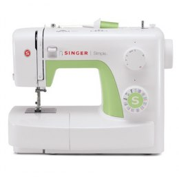 Singer Sewing Machine Simple 3229 Number of stitches 31, Number of buttonholes 1, White/Green