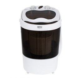 Camry Mini washing machine CR 8054 Top loading, Washing capacity 3 kg, Depth 37 cm, Width 36 cm, White/Gray, Semi-automatic