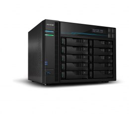 Asus AsusTor 10 Bay NAS AS6510T up to 10 HDD/SSD, Intel ATOM C3538 Quad-Core, Processor frequency 2.1 GHz, 8 GB, SO-DIMM DDR4 24