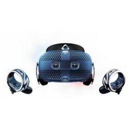 HTC Smart Glasses Vive Cosmos Headset Black/Blue, VR glasses with built-in headphones, DisplayPort 1.2 or newer