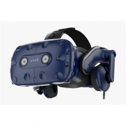 HTC Smart Glasses Vive Pro Headset Black/Blue, VR glasses with built-in headphones, DisplayPort 1.2 or newer, Bluetooth, USB-C p