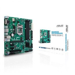 Asus PRIME B360M-C Processor family Intel, Processor socket LGA1151, DDR4, Memory slots 4, Chipset Intel B, Micro ATX