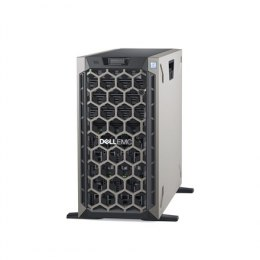 Dell PowerEdge T440 Tower, Intel Xeon, Silver 1x4208, 2.2 GHz, 11 MB, 16T, 8C, RDIMM DDR4, 2666 MHz, No RAM, No HDD, Up to 8 x 3