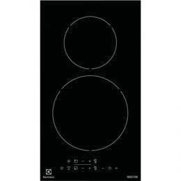 Electrolux Hob EHH3320NVK Induction, Number of burners/cooking zones 2, Black, Display, Timer