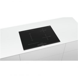 Bosch Induction hob PVS775FC5E Induction, Number of burners/cooking zones 4, Electronic, Timer, Black