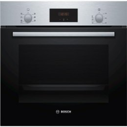 Bosch Oven HBF113BR0S 66 L, Built-in, Electronic, Height 59.5 cm, Width 59.4 cm, Stainless steel/Black