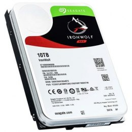 "Seagate NAS HDD IronWolf 10TB ST10000VN0008 7200 RPM, 3.5 "", 10000 GB, SATA, 256 MB"