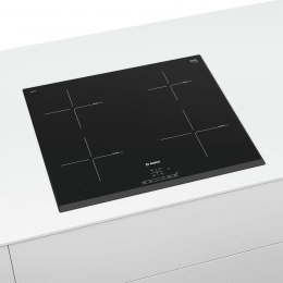 Bosch Induction Hob PIE651BB1E Ceramic hob, Number of burners/cooking zones 4, Touch, Timer, Black, Display