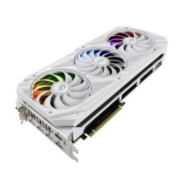 Asus ROG-STRIX-RTX3090-24G-WHITE NVIDIA, 24 GB, GeForce RTX 3090, GDDR6X, PCI Express 4.0, Processor frequency 1695 MHz, HDMI po