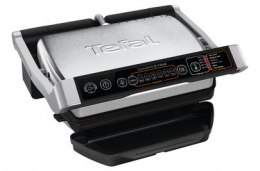 TEFAL OptiGrill Initial GC706D Contact grill, 2000 W, Black/Stainless steel