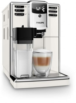 Philips Espresso Coffee maker EP5361/10 Built-in milk frother, Fully automatic, White