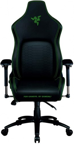 Razer Iskur Gaming Chair with Lumbar Support, Black/Green