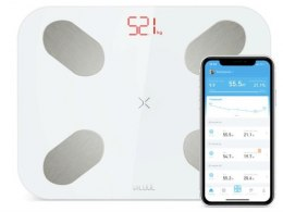PICOOC Digital Smart scales S1 Pro V2 Maximum weight (capacity) 150 kg, Body Mass Index (BMI) measuring, White, Memory function