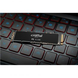Crucial SSD P5 250 GB, SSD form factor M.2 2280, SSD interface PCIe NVMe Gen 3, Write speed 1400 MB/s, Read speed 3400 MB/s