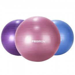 PROIRON Exercise Yoga Ball Balance Ball, Diameter: 55 cm, Thickness: 2 mm, Red, PVC