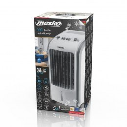 Mesko Air cooler 3in1 MS 7918 Free standing, Fan function, Number of speeds 3, White